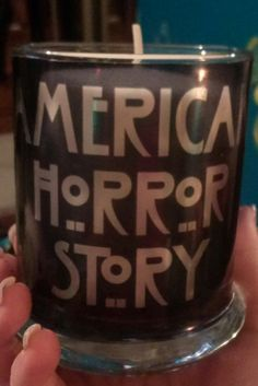 Hey, I found this really awesome Etsy listing at https://www.etsy.com/listing/169720848/american-horror-story-tate-candle
