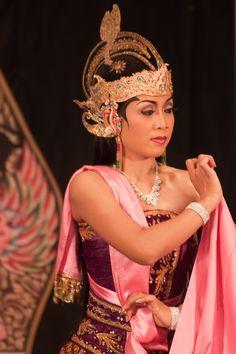 "A dancing performance in Yogyakarta, Java, Indonesia. ""Yogya"" is big on culture. The dancer impersonates Dewi Sita, one of the principal characters in the Hindu epic Ramayana, named after her husband Rama. Photo: Peter Nijenhuis"