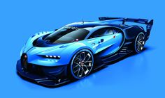 Bugatti revela seu superesportivo Vision Gran Turismo