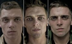 """SOLDIERS BEFORE, DURING, & AFTER AFGHAN DEPLOYMENT: Private Chris MacGregor, 24: """"Most people get used to being away from home but I find it hard. It's your fear that keeps you alive here."""""""