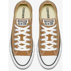 Converse Chuck Taylor All Star Seasonal Low Top Unisex Shoe. Nike.com ($55) ❤ liked on Polyvore featuring shoes, sneakers, low top, star sneakers, unisex sneakers, low profile shoes and star shoes