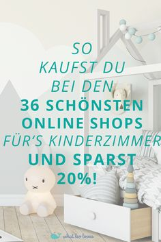 Kinderzimmer Shopping Guide 2018 How to make your dream nursery beautiful and save money. Find out here how to do it with the Nursery Shopping Guide! Baby Room Decor, Nursery Room, Girl Nursery, Parents Room, Kids Room, Baby Zimmer, Attic Playroom, Baby Nursery Neutral, Little Girl Rooms