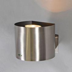 Steckerleuchte Plug rund Stahl: #steckerleuchte #innenbeleuchtung