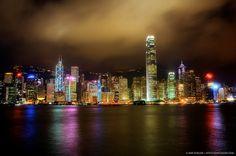 HDR Photo of the Hong Kong skyline