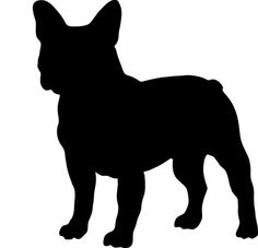 french bulldog outline - Google Search