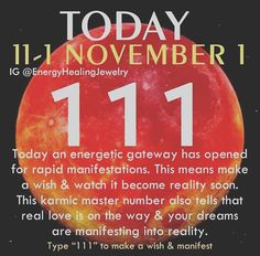 This is wonderful Motivational Thoughts, Inspirational Quotes, 111 Meaning, Happy November, Divine Timing, Number Meanings, Manifestation Law Of Attraction, Real Love, Spiritual Inspiration