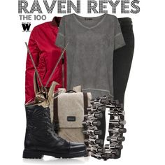 Inspired by Lindsey Morgan as Raven Reyes on The 100.