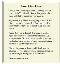 For a friend Prayers For Grieving, Grieving Quotes, Prayers For Healing, Hospice Quotes, Grieving Friend, Powerful Prayers, Grieving Mother, Prayer For Sick Friend, Prayer For Grief