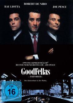 Goodfellas Drei Jahrzehnte in der Mafia * IMDb Rating: 8,8 (412.958) * 1990 USA * Darsteller: Robert De Niro, Ray Liotta, Joe Pesci,