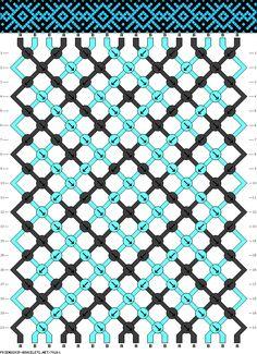16 strings, 20 rows, 2 colors