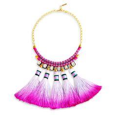 Mega Tassel Necklace @furb