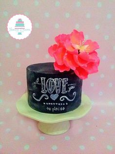 i love you to pieces - Cake by Frosted Dreams