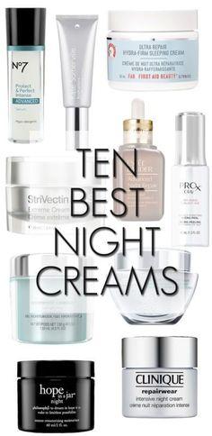 Ten Best Night Creams                                                                                                                                                                                 More