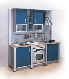micro kitchen design | The Kitchen Gallery :: Aluminium and Stainless Steel Kitchens ...