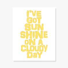 Happy quote artwork in sunshine yellow. Imagine it in a kids room, kitchen, family room. - Yellow denotes hope, cheerfulness, happiness and optimism. What could be better than that? - Quote artwork th