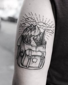 246 vind-ik-leuks, 7 reacties - @roaldvdbroektattoo op Instagram: 'Little backpack from my one-offs. Done @salonserpenttattooparlour. #blxckink #tattooamsterdam…'