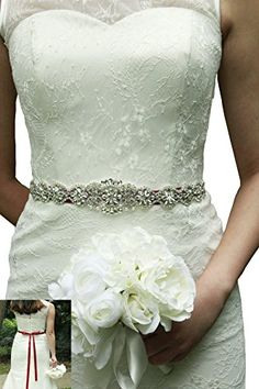 Lemandy Handmade Rhinstone Sash Belts For Wedding Bridal Https Www