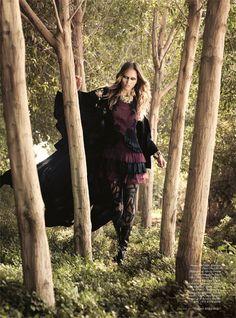 Melissa Rodwell - Harper's Bazaar Arabia Shoot..