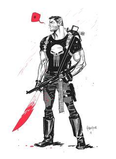 Punisher on Behance by Dan Mora