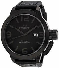T.W. Steel Quartz Black Dial Men's Watch - TWS TW822 TW Steel. $264.49. Quartz Movement. 50mm Case Diameter. Mineral Crystal. 100 Meters / 330 Feet / 10 ATM Water Resistant. Save 50%!