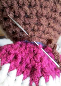 Tip Attaching Amigurumi Head: Place in center top of body, use tiny whip stitches going from head to body and back to head, going around entire head. You may want to go around several times to make sure head is secure.