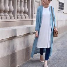 blur-cardigan-hijab-simple-style