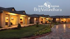 #SHRI Group Shri Radha Brij Vasundhara offers a unique opportunity to rejuvenate in tranquil surroundings, exquisite interiors and beautifully landscaped gardens along with an exhilarating view of the panoramic Govardhan hill. These luxury cottages provide a heavenly experience in the eternal abode of Lord #Krishna.