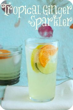 tropical ginger sparkler