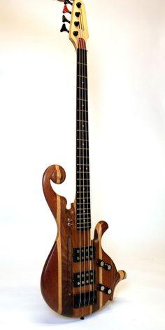 Handmade Bass Guitar
