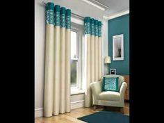 ideas de Cortinas para la sala - YouTube Curtains, House Ideas, Home Decor, Youtube, Houses, Bedspreads, House Decorations, Interiors, Home
