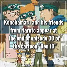 naruto facts. The voice actor of Ben 10 is the same as Sasuke Uchiha (Yuri Lowenthal)