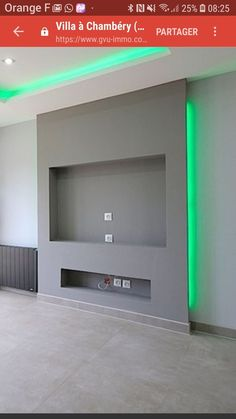 Piece of furniture- Mueble Piece of furniture - – Mobilier de Salon Living Room Decor Fireplace, Fireplace Tv Wall, Fireplace Design, Living Room Wall Units, Living Room Tv Unit Designs, Home Living Room, Living Area, Built In Electric Fireplace, Casa Patio