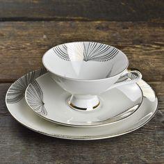 1950'S WINTERLING MARKTLEUTHEN TEA CUP TRIO $55.00