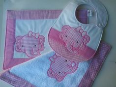 Kit Bebe, Baby Kit, Animal Quilts, Baby Body, Baby Design, Baby Patterns, Burp Cloths, Bibs, Couture