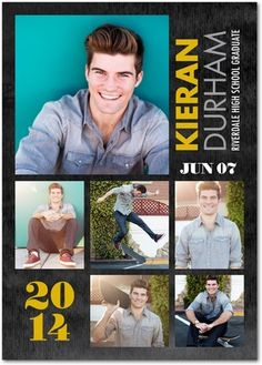 Rich Recognition - Graduation Announcements by Jill Smith in Goldenrod