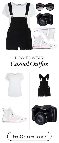 Casual by fashionidea5 on Polyvore featuring Converse and Vince Camuto