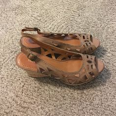 Wedges Great condition Nicole by Nicole Miller Shoes Wedges