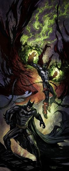 Dark Avengers - Batman & Spawn