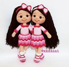 Tatlı ikizler Ela ve Naz için hazırladım.  Güzel günlerde oynasınlar . . . . #amigurumis #örgüoyuncak #örgübebek #organikoyuncak… Teddy Bear, Toys, Animals, Instagram, Amigurumi, Activity Toys, Animaux, Animal, Animales