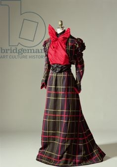 1890s Walking Dress
