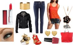 """""""Motorcycle Girl"""" by apeacechick01 on Polyvore"""