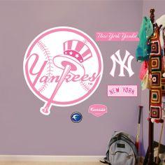 New York Yankees Pink Logo Yankees Fan b59143c04