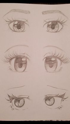 Anime Eyes Anime - Style de tatouage - Best Picture For Tattoo Style blac How To Draw Anime Eyes, Manga Eyes, Anime Eyes Drawing, Art Drawings Sketches Simple, Cute Drawings, Pencil Drawings, Pencil Sketching, Tattoo Drawings, Realistic Eye Drawing