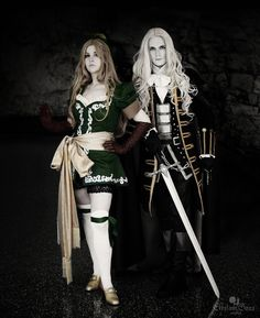"""I've come to destroy this castle."" Series: Castlevania: Symphony of the Night Character(s): Maria Renard, Alucard For the last year, I have been crafting these costumes to fulfill a dream. L..."