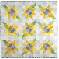 Mini Wonderful Curves - Sew Kind of Wonderful Summer Quilts, Fall Quilts, Nancy Zieman, Quilt Block Patterns, Quilt Blocks, Tree Quilt Pattern, Sewing Patterns, Quilting Projects, Quilting Designs