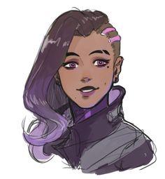 welcome to overwatch hell Character Inspiration, Character Art, Character Design, Black Girl Art, Art Girl, Fanart, Overwatch Fan Art, Overwatch Memes, Widowmaker