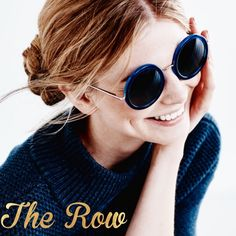 The ROW~ signature Round sunglasses The high end line from the designers of Elizabeth and James. M.K. And Ashley are never without their signature style round sunglasses. Now they're adding them to their fabulous collections. These beautiful blue acetate frames are lightweight and perfectly balanced. You'll want to wear them 24-7! BNWT!! they're not quite right for my face so I'm selling them new for almost $200 LESS than I paid. This is a HUGE and AMAZING deal!! Plus get any TWO ITEMS…