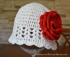 "GORRO DE VERANO ""ZOE"" A CROCHET PASO A PASO   Patrones Crochet ..."