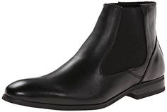 Kenneth Cole Reaction Men's Check It Out Leather Chelsea Boot, Black, 11 M US - http://authenticboots.com/kenneth-cole-reaction-mens-check-it-out-leather-chelsea-boot-black-11-m-us/