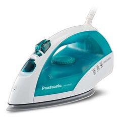 Make your garments wrinkle free in a flash with the Panasonic Steam Circulating Iron. This device features adjustable steam and dry heat settings to safely and effectively even out tough wrinkles in all types of fabrics. Gibson Home, Fabric Steamer, Dry Heat, Iron Shirt, Iron Board, Steam Iron, Water Tank, Bedding Shop